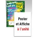 Poster & Affiche sur mesure à l'unité