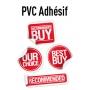 Etiquettes pvc adhésives