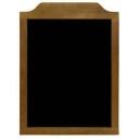 Tableau noir vertical pour menu