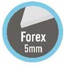Panneau PVC Forex 5mm