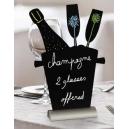 Ardoise silhouette: Champagne