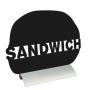 Ardoise en forme de sandwich