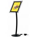 Présentoir menu à LED - A4