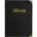 Protège-menus pour menus A4