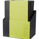 Box + 20 Protèges-menus A4 - Vert