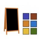 Chevalet ardoise cadre couleur