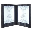 Carte Menu 2 volets A4 - Eclairage LED