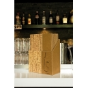 BOX + 20 Cartes des vins design Cork A4