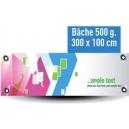 Banderole -  300x100cm