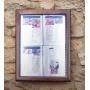 Porte menu extérieur - Led - 4xA4