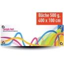 Banderole -  400x100cm