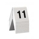 Lot de 10 chevalets numérotés de 11 à 20
