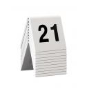 Lot de 10 chevalets numérotés de 21 à 30