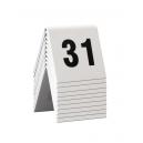 10 chevalets numérotés de 31 à 40