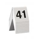 10 chevalets numérotés de 41 à 50