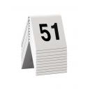 10 chevalets numérotés de 51 à 60