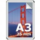 Cadre clic clac A3 ( 210x297mm ) profilé 25mm