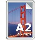 Cadre clic clac A2 ( 420x594mm ) profilé 25mm