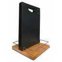 Porte-menu  de table portatif