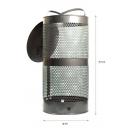 Poubelle exterieure 38 litres