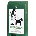 Distributeur de sacs à déjections canine