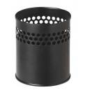 Pot à crayon métallique noir