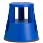 Tabouret marchepied mobile - Bleu