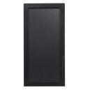 Ardoise 20 x 40 cm woody noir + 1 feutre