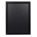 Ardoise 30 x 40 cm woody Noir + 1 feutre