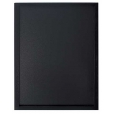 Ardoise 40 x 60 cm woody noir + 1 feutre
