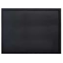 Ardoise 60 x 80 cm woody noir + 1 feutre