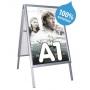 chevalet trottoir aluminium - A1 - Etanche